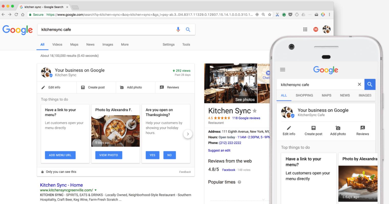 ottimizzazione scheda my business google